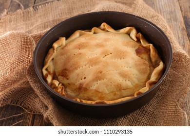 meat pie or tourte