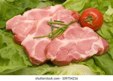 Meat from pork