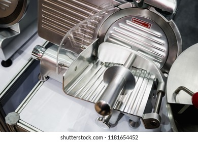 Meat slicer machine.