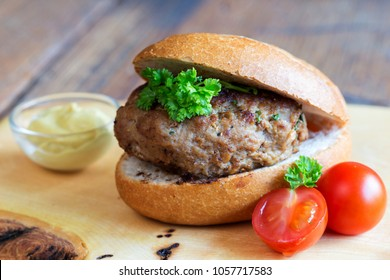 meatball with bun