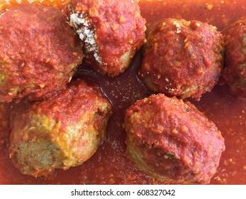 Meatballs In The Sauce