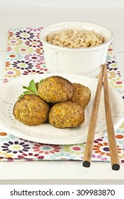 meatballs vegetarians, dumplings, balls, lentils, carrot, soy, pumpkin, legume, rice, vegetarian food for diet, vegetables, recipe vegetarian