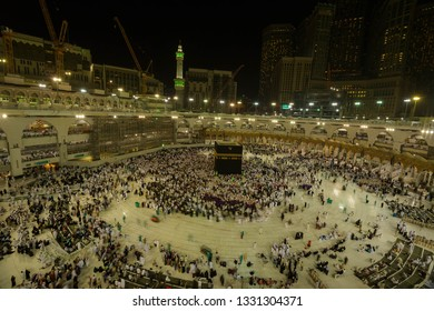 Mecca, in a desert valley in western Saudi Arabia, is Islam's holiest city, as it's the birthplace of the Prophet Muhammad and the faith itself. Only Muslims are allowed in the city, with millions arr