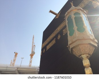 MECCA, Saudi Arabia. - 25 JULY 2017 Kaaba in Mecca is the holiest and most visited mosque for all Muslims. The scenary at mecca. C