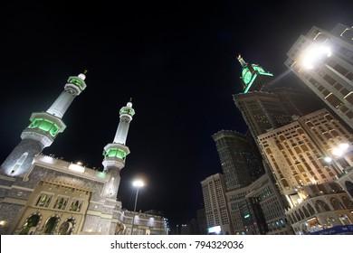 Makkah Night View Images Stock Photos Vectors Shutterstock