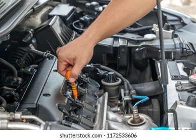 Installing Car Battery Images, Stock Photos & Vectors