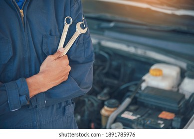 Mechanic overhaul technician car auto garage automotive mobile center. Technician overhaul workshop repairing engine motor vehicles service mechanical business. Automobile mechanic hands car repairs