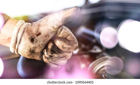 Mechanic thumbs up