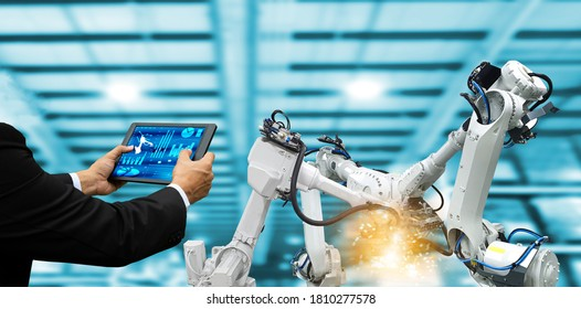 Mechanical arm technology Industrial automation robots factory machinery