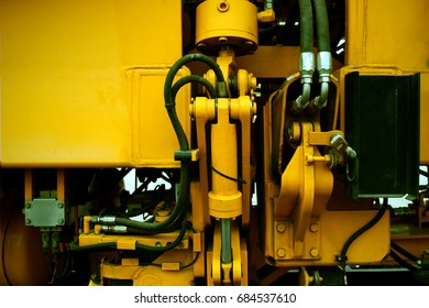 Mechanical engineering industrial And technology background / technical design