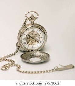 mechanical pocket clock