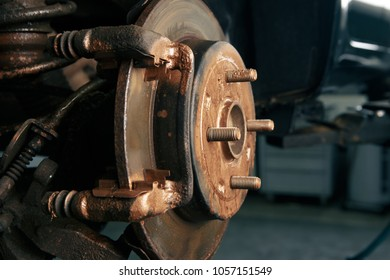 mechanical in its workshop which replaced brake discs