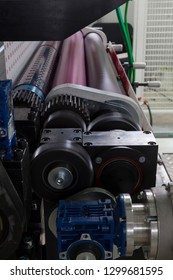 mechanism and rollers machines for flexo press