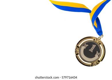 Medal. concept Winner