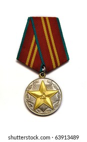 "Medal ""For fifteen years of distinguished service """