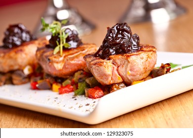 Medallions of veal