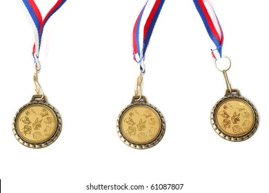 medals for dogs at the exhibition