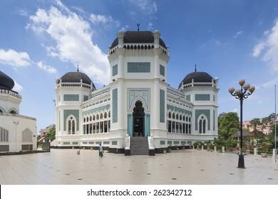 Medan Grand Mosque, North Sumatra, Indonesia