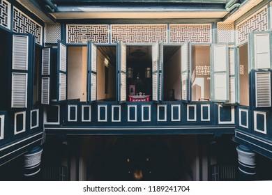Medan, Indonesia - July 15 2018: Tjong A Fie Mansion
