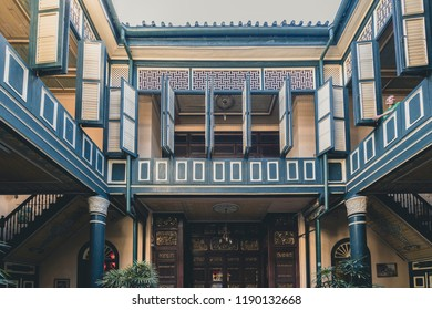 Medan, Indonesia - July 25 2018: Tjong A Fie Mansion Interior and Equipments