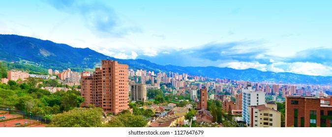 Medellin Panoramic El Poblado