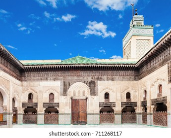The Medersa Bou Inania is a madrasa in Fes, Morocco. Medersa Bou Inania is acknowledged as an excellent example of Marinid architecture.
