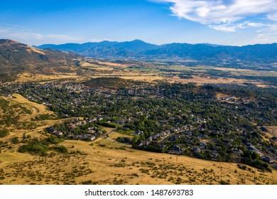 Medford, Oregon view from Roxy Ann