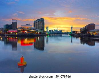 Media City, Manchester. UK.