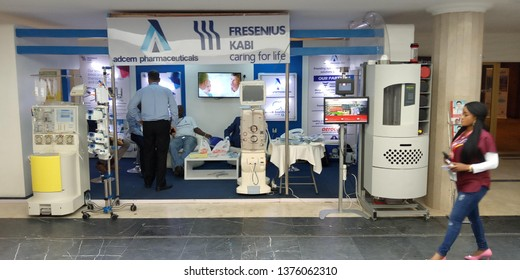 Medic West Africa Exhibition for Adcem Pharmaceuticals at Eko Convention center, Victoria Island, Lagos state 11th - 13th October, 2018