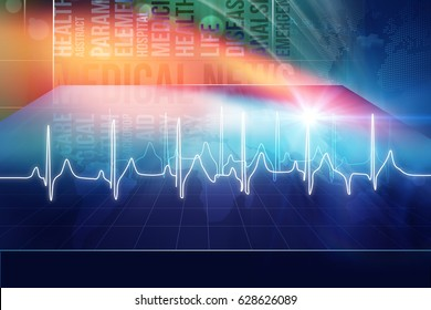 Medical Abstract Background, Suitable for Healthcare and Medical News Topic