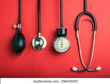 Medical background. Cardiologi medical tools