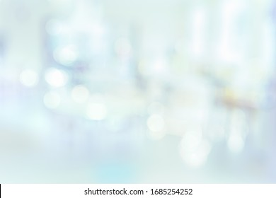 MEDICAL BLURRED BACKGROUND,  HOSPITAL OFFICE WITH BOKEH LIGHTS, LIGHT ROOM