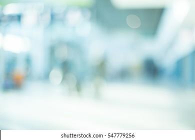 MEDICAL BLURRED BACKGROUND, MODERN HOSPITAL, HEALTHCARE