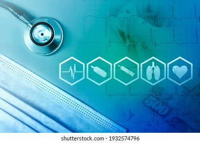 Medical business and healthcare service, Medicare Payment Concept