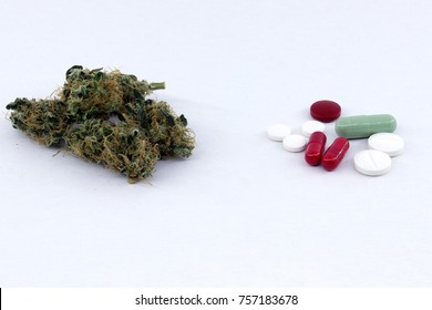 Medical cannabis and chemical pills