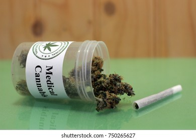 Medical cannabis and a joint