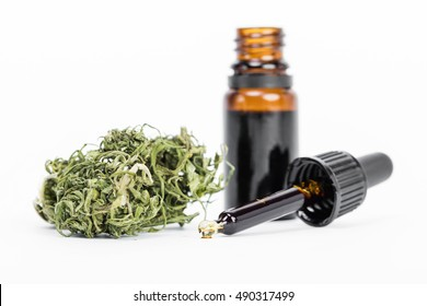 Medical Cannabis ( Marijuana ) oil ready for consumption