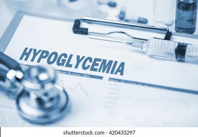 Medical Concept: Hypoglycemia