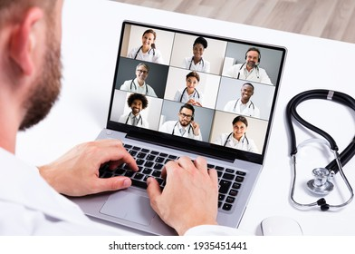 Medical Doctor Online eLearning Video Conference Technology