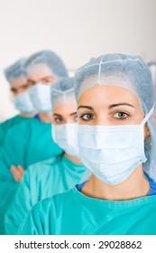 medical doctors professional team
