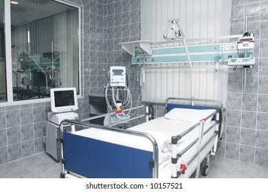 medical equipment in hospital