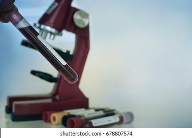 Medical equipment. microscope.