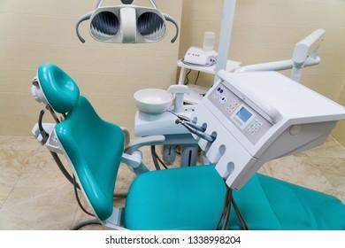Medical Equipment in Modern Dental Office