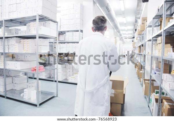 Medizinfabrik versorgt Lager mit Arbeitskräften