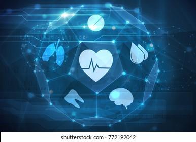 medical futuristic interface