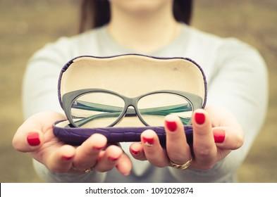 medical glasses for girl