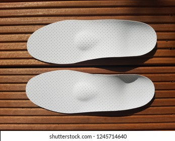 Medical insole made from foam material