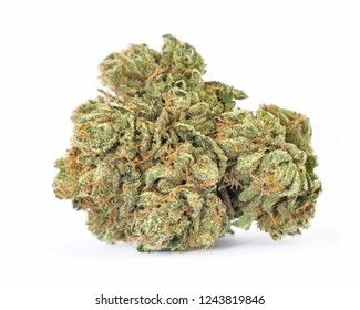 Medical marijuana bud. Cannabis flower strain. Indica, sativa, hybrid. Weed flower. Dispensary menu.