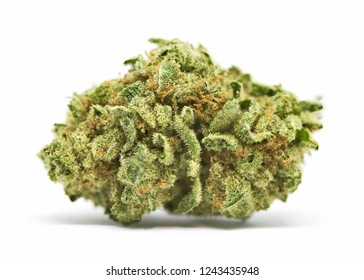Medical marijuana flower. Close up cannabis flower. Medical marijuana bud. Weed buds. Cannabis strain.