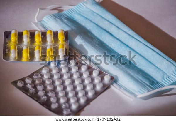 medical-masks-pharmaceutical-preparation